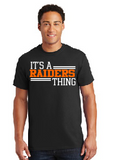 Raiders Toddler Tee in Black - choice of design