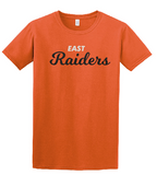 Raiders Toddler Tee in Orange - choice of design