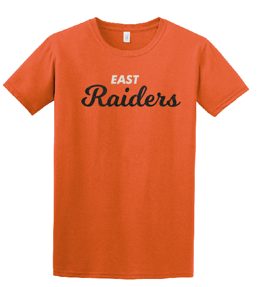 Raiders Youth Tee in Orange - choice of design