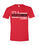 Westerners Toddler Softstyle Tee in Red - your choice of design