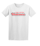 Westerners Youth Tee in White - your choice of design