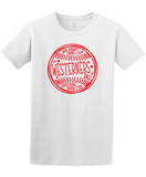 Westerners Softball Youth Tee in White - your choice of design