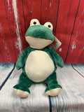 Embroider Buddy Frog Stuffie with Custom Embroidery