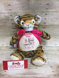 Cubbies™ Tiger Stuffie with Custom Embroidery