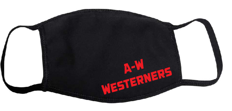 YOUTH A-W Westerners Mask - Black
