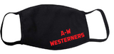 A-W Westerners Adult Mask - Black