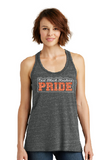Raiders Womens Black/Grey Cosmic Twist Back Tank Top - your choice of design