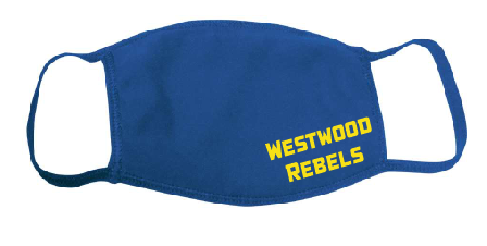 Westwood Rebels Adult Mask - Royal