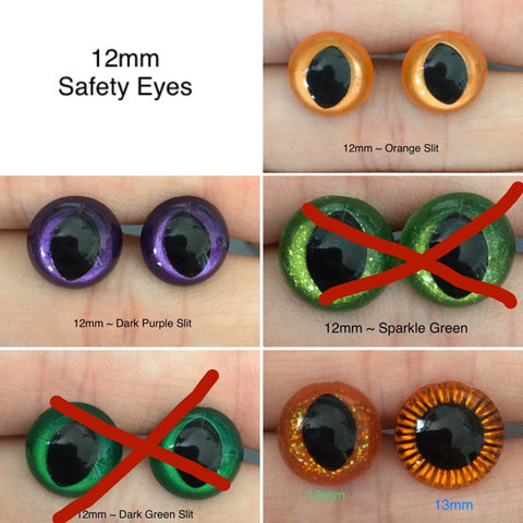 Commission Eyes ~ 12mm Size