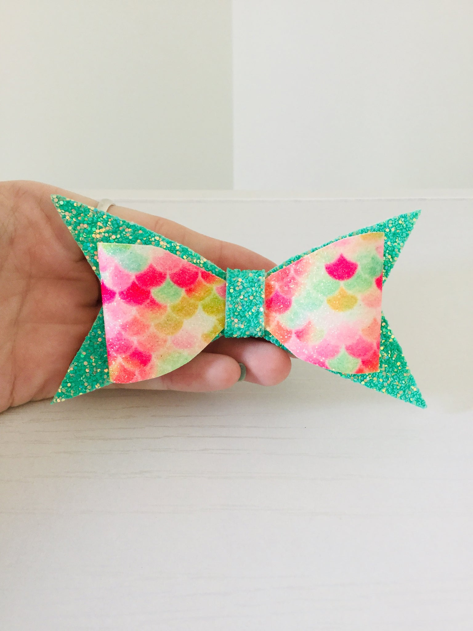Large Bow ~ Fruity Mermaid