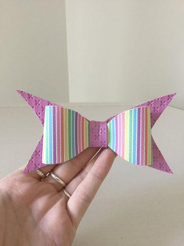Large Bow ~ Lolly pop