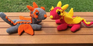 Crochet Fairy Dragon Pattern
