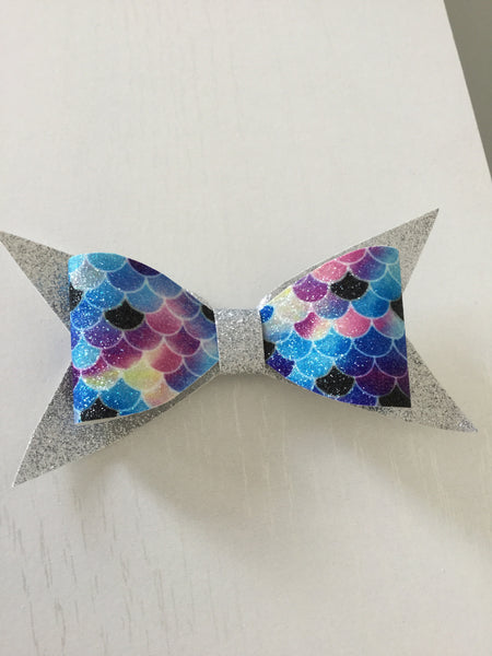 Large Bow ~ Bling Mermaid