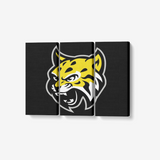 "ATLANTA WILDCATS 3 PIECE CANVAS WALL ART -  3x8""x18"""