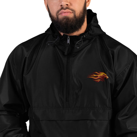 LOUISVILLE FIREBIRDS EMBROIDERED CHAMPION PACKABLE JACKET