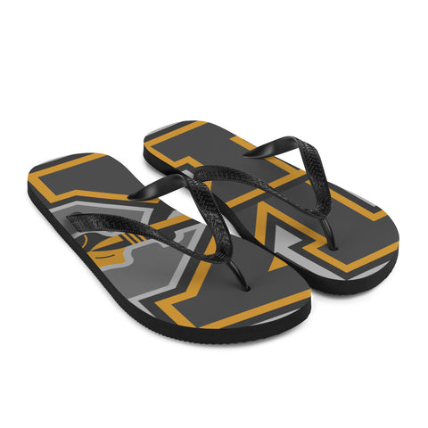 KANSAS CITY KAPITALS FLIP-FLOPS
