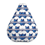 INDIANA BLUE BOMBERS BEAN BAG CHAIR W/FILLING