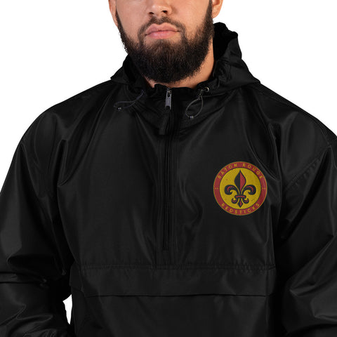 BATON ROUGE REDSTICKS EMBROIDERED CHAMPION PACKABLE JACKET