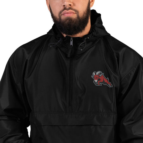 HOUSTON BIGHORNS EMBROIDERED CHAMPION PACKABLE JACKET