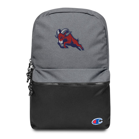 HOUSTON BIGHORNS EMBROIDERED CHAMPION BACKPACK