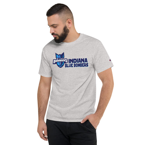 INDIANA BLUE BOMBERS MEN'S CHAMPION TEE
