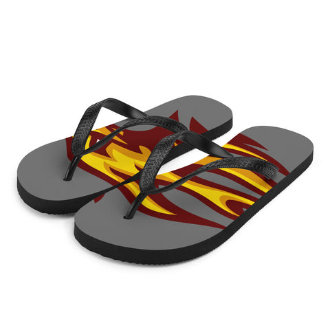 LOUISVILLE FIREBIRDS FLIP-FLOPS