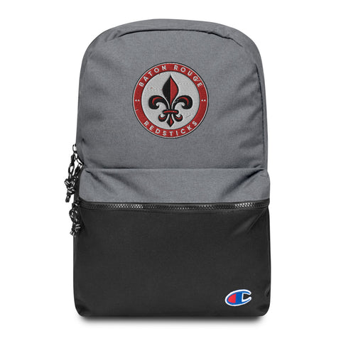 BATON ROUGE REDSTICKS EMBROIDERED CHAMPION BACKPACK