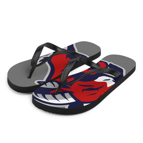 HOUSTON BIGHORNS FLIP-FLOPS