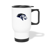 ST LOUIS STAMPEDE TRAVEL MUG - white