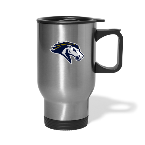 ST LOUIS STAMPEDE TRAVEL MUG - silver