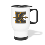 KANSAS CITY KAPITALS TRAVEL MUG - white