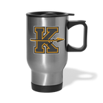 KANSAS CITY KAPITALS TRAVEL MUG - silver