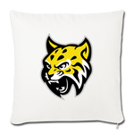 ATLANTA WILDCATS THROW PILLOW - natural white