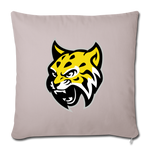 ATLANTA WILDCATS THROW PILLOW - light taupe