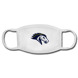 ST LOUIS STAMPEDE FACEMASK - white/white