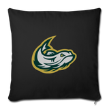 MISSISSIPPI MUDCATS THROW PILLOW - black