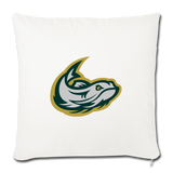 MISSISSIPPI MUDCATS THROW PILLOW - natural white
