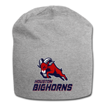 HOUSTON BIGHORNS BEANIE - heather gray
