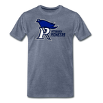 PITTSBURGH PIONEERS MEN'S PREMIUM TEE - heather blue