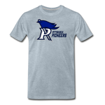 PITTSBURGH PIONEERS MEN'S PREMIUM TEE - heather ice blue