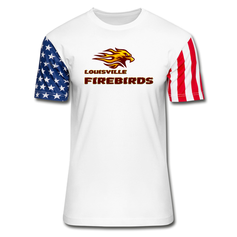 LOUISVILLE FIREBIRDS Stars & Stripes T-Shirt - white