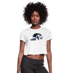 ST LOUIS STAMPEDE WOMEN'S CROPPED TEE - white