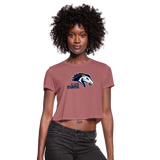 ST LOUIS STAMPEDE WOMEN'S CROPPED TEE - mauve