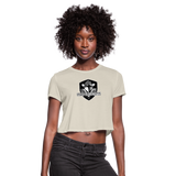 VIRGINIA BEACH DESTROYERS WOMEN'S CROPPED TEE - dust