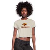 LOUISVILLE FIREBIRDS WOMEN'S CROPPED TEE - dust
