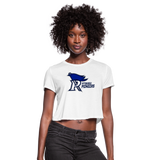 PITTSBURGH PIONEERS WOMEN'S CROPPED TEE - white