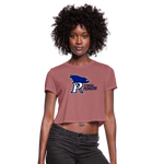 PITTSBURGH PIONEERS WOMEN'S CROPPED TEE - mauve