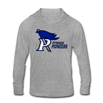 PITTSBURGH PIONEERS Unisex Tri-Blend Hoodie Shirt - heather gray