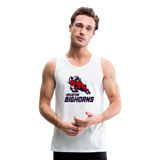 HOUSTON BIGHORNS Men's Premium Tank - white