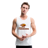 LOUISVILLE FIREBIRDS Men's Premium Tank - white